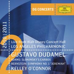 Adams: Slonimsky's Earbox / Bernstein: Symphony No.1