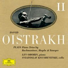 David Oistrakh Plays Piano Trios (Vol. 2) - David Oistrakh, Svyatoslav Knushevitzky, Lev Oborin