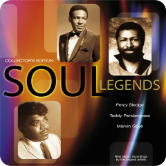 Soul Legends (Collector's Edition) - Percy Sledge, Teddy Pendergrass, Marvin Gaye