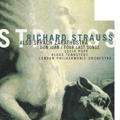 Strauss - Also Sprach Zarathustra - Lucia Popp, London Philharmonic Orchestra, Klaus Tennstedt