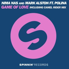 Game Of Love (feat. Polina) - Nima Nas, Mark Alston, Polina