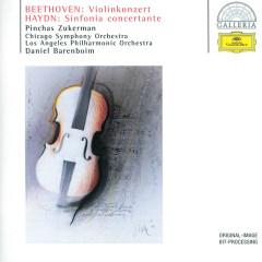 Beethoven: Violin Concerto / Haydn: Sinfonia concertante - Chicago Symphony Orchestra, Daniel Barenboim