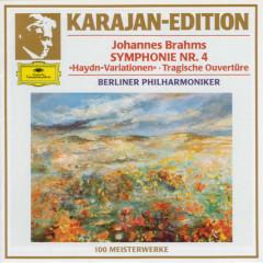 Brahms: Symphony No. 4 In E Minor, Op. 98 ;Variations On A Theme By Joseph Haydn, Op. 56a; Tragic Overture, Op. 81 - Berliner Philharmoniker, Herbert von Karajan