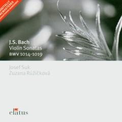Bach, JS : Violin Sonatas Nos 1 - 6 [Complete]  -  Elatus - Josef Suk
