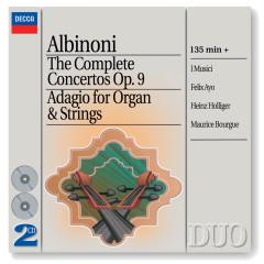 Albinoni: The Complete Concertos/Adagio for Organ & Strings - I Musici, Heinz Holliger, Felix Ayo, Maurice Bourgue, Maria Teresa Garatti