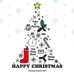 Happy Christmas - Tako & Jhyung, Lim Dong Hyun, Sllo, Jo Young Hyun