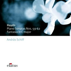 Haydn : Piano Sonatas Nos 59 - 62 & Fantasia in C major  -  Elatus - Andras Schiff