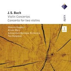 Bach, JS : Violin Concertos & Concerto for 2 Violins - Ton Koopman
