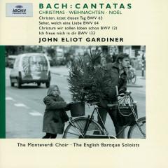 Bach, J.S.: Christmas Cantatas BWV 63, 64, 121 & 133 - Ann Monoyios, Katherine Fuge, Sara Mingardo, Derek Lee Ragin, Julian Podger