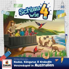 022/Koalas, Kängurus und Krokodile - Versteckspiel in Australien - Schlau wie Vier