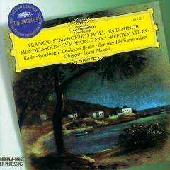 Franck: Symphony in D minor / Mendelssohn: Symphony No.5 - Berliner Philharmoniker, Radio-Symphonie-Orchester Berlin, Lorin Maazel
