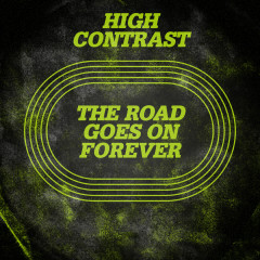 The Road Goes On Forever - High Contrast