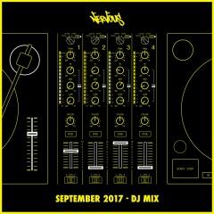Nervous September 2017: DJ Mix - Various Artists