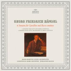 Handel: Flute Sonatas - Karl Richter, Hans-Martin Linde, Johannes Koch