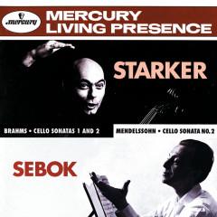 Brahms / Mendelssohn: Cello Sonatas - Janos Starker, György Sebök