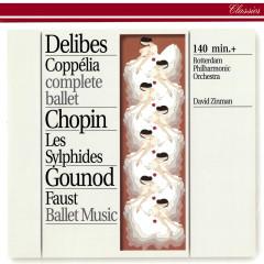 Delibes: Coppélia / Chopin: Les Sylphides / Gounod: Faust Ballet Music - Rotterdam Philharmonic Orchestra, David Zinman