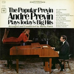 Popular Previn: Andre Previn Play's Today's Big Hits