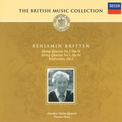 String Quartets Nos.2 & 3/Sinfonietta - Amadeus Quartet, Wiener Oktett