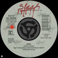 Epic (Radio Remix Edit) / Edge of the World (45 Version) (Radio Remix Edit; 45 Version)