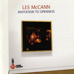 Invitation To Openness - Les McCann