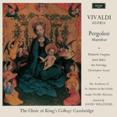 Vivaldi: Gloria; Pergolesi: Magnificat - Elizabeth Vaughan, Dame Janet Baker, Ian Partridge, Christopher Keyte, The Choir of King's College, Cambridge