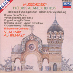 Mussorgsky: Pictures at an Exhibition (piano version & orchestration) - Vladimir Ashkenazy, Philharmonia Orchestra