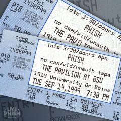 PHISH: 9/14/99 Boise State University Pavilion, Boise, ID (Live) - Phish