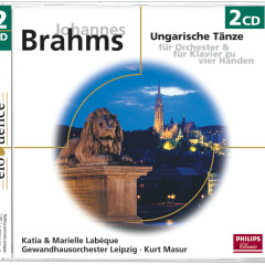 Brahms: Ungarische Tänze - Katia Labèque, Marielle Labèque, Gewandhausorchester Leipzig, Kurt Masur