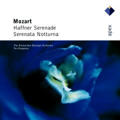 Mozart : Serenades Nos 6, 'Serenata notturna' & 7, 'Haffner'  -  Apex - Amsterdam Baroque Orchestra, Ton Koopman