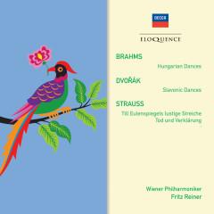 Brahms: Hungarian Dances; Dvorak: Slavonic Dances; R. Strauss: Tod und Verklarung; Till Eulenspiegel - Fritz Reiner