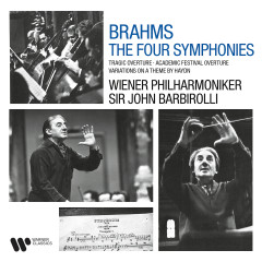 Brahms: Symphonies, Tragic Overture, Academic Festival Overture & Variations on a Theme by Haydn - Sir John Barbirolli