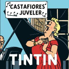 Castafiores juveler - Tintin, Tomas Bolme, Bert-Åke Varg