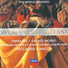 Verdi: Messa Solenne; Libera Me; Sacred Works (Five World Premieres) - Elisabetta Scano, Cristina Gallardo-Domas, Juan Diego Florez, Kenneth Tarver, Eldar Aliev