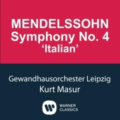 Mendelssohn: Symphony No.4 'Italian' - Kurt Masur