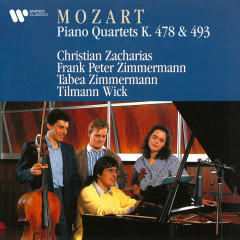 Mozart: Piano Quartets, K. 478 & 493 - Christian Zacharias, Frank Peter Zimmermann, Tabea Zimmermann, Tilmann Wick