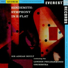 Hindemith: Symphony in E-flat (Transferred from the Original Everest Records Master Tapes) - London Philharmonic Orchestra, Sir Adrian Boult