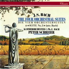 J.S. Bach: Orchestral Suites Nos. 1-5 - Peter Schreier, Kammerorchester Carl Philipp Emanuel Bach