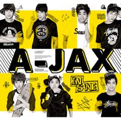 A-Jax 2nd Mini Album 'Insane' - A-JAX