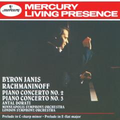 Rachmaninov: Piano Concertos Nos.2 & 3; Prelude in E flat etc. - Byron Janis, London Symphony Orchestra, Minneapolis Symphony Orchestra, Antal Doráti
