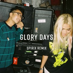 Glory Days (feat. Hayley Kiyoko) [Spirix Remix] - Sweater Beats, Hayley Kiyoko