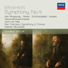 Brahms: Symphony No.4; Alto Rhapsody; Nanie - Gewandhausorchester Leipzig, San Francisco Symphony Chorus, San Francisco Symphony, Herbert Blomstedt