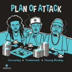 Plan of Attack - Curren$y, Trademark Da Skydiver, Young Roddy