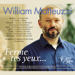 William Matteuzzi: Ferme tes yeux - William Matteuzzi, David Parry, Academy of St. Martin in the Fields