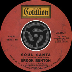 Soul Santa / Let Us All Get Together With The Lord [Digital 45] - Brook Benton