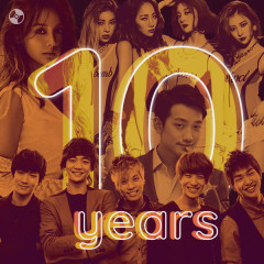 K-Pop 10 Years Top Hits - Various Artists