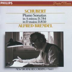 Schubert: Piano Sonatas in A minor, D.784 & D, D.850 - Alfred Brendel