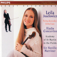Tchaikovsky/Sibelius: Violin Concertos - Leila Josefowicz, Academy of St. Martin in the Fields, Sir Neville Marriner