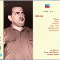 Sibelius: En Saga; Tapiola; Finlandia; Valse Triste; Violin Concerto - Jan Damen, Eduard Van Beinum, Thomas Jensen