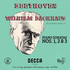 Beethoven: Piano Sonatas Nos. 1, 2 & 3 (Mono Version) - Wilhelm Backhaus