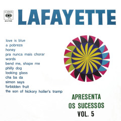 Lafayette Apresenta os Sucessos, Vol. V - Lafayette